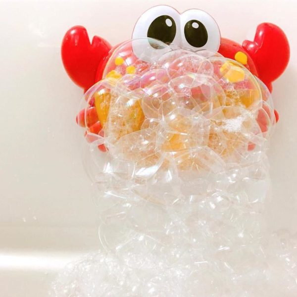 bubble bath crab