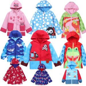 gorgeous rain coat boys and girls