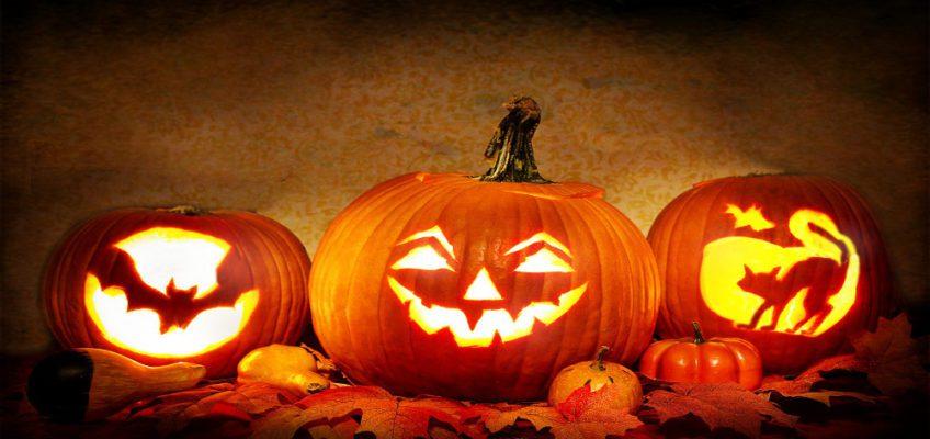 Halloween pumpkin jack later