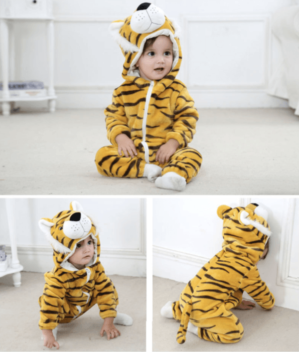 tiger romper for kids