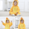 duck costume romper for kids