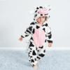cow onesie costume romper jumpsuit