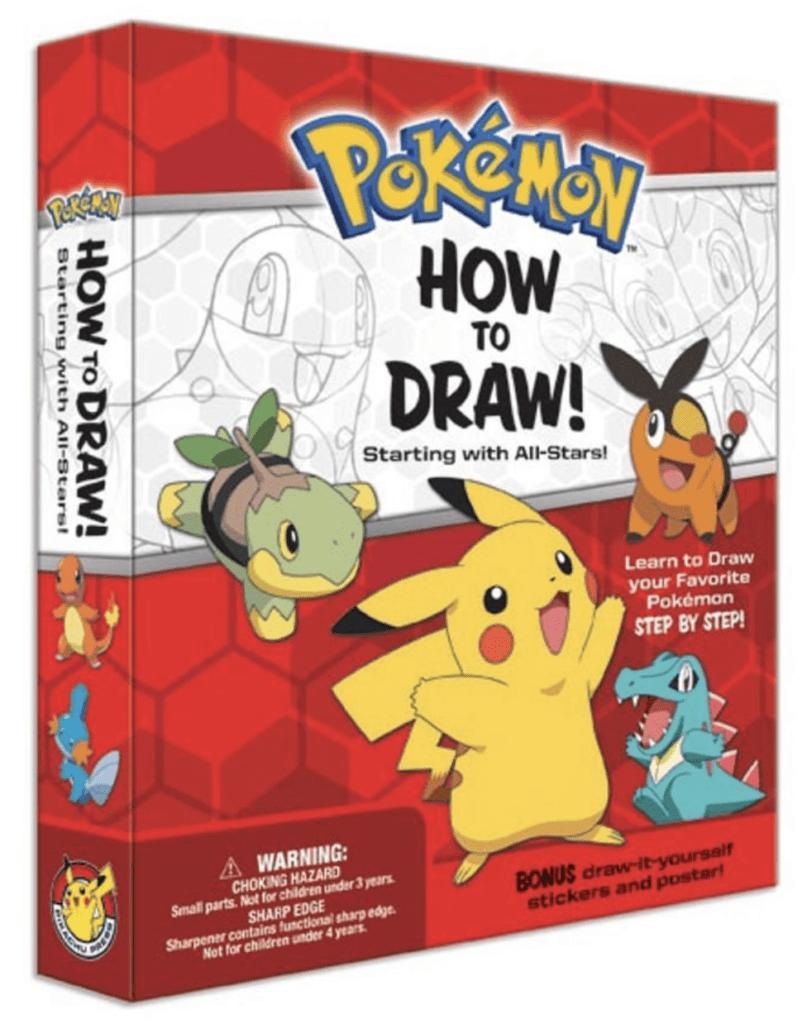 How to Draw Pokémon Kit