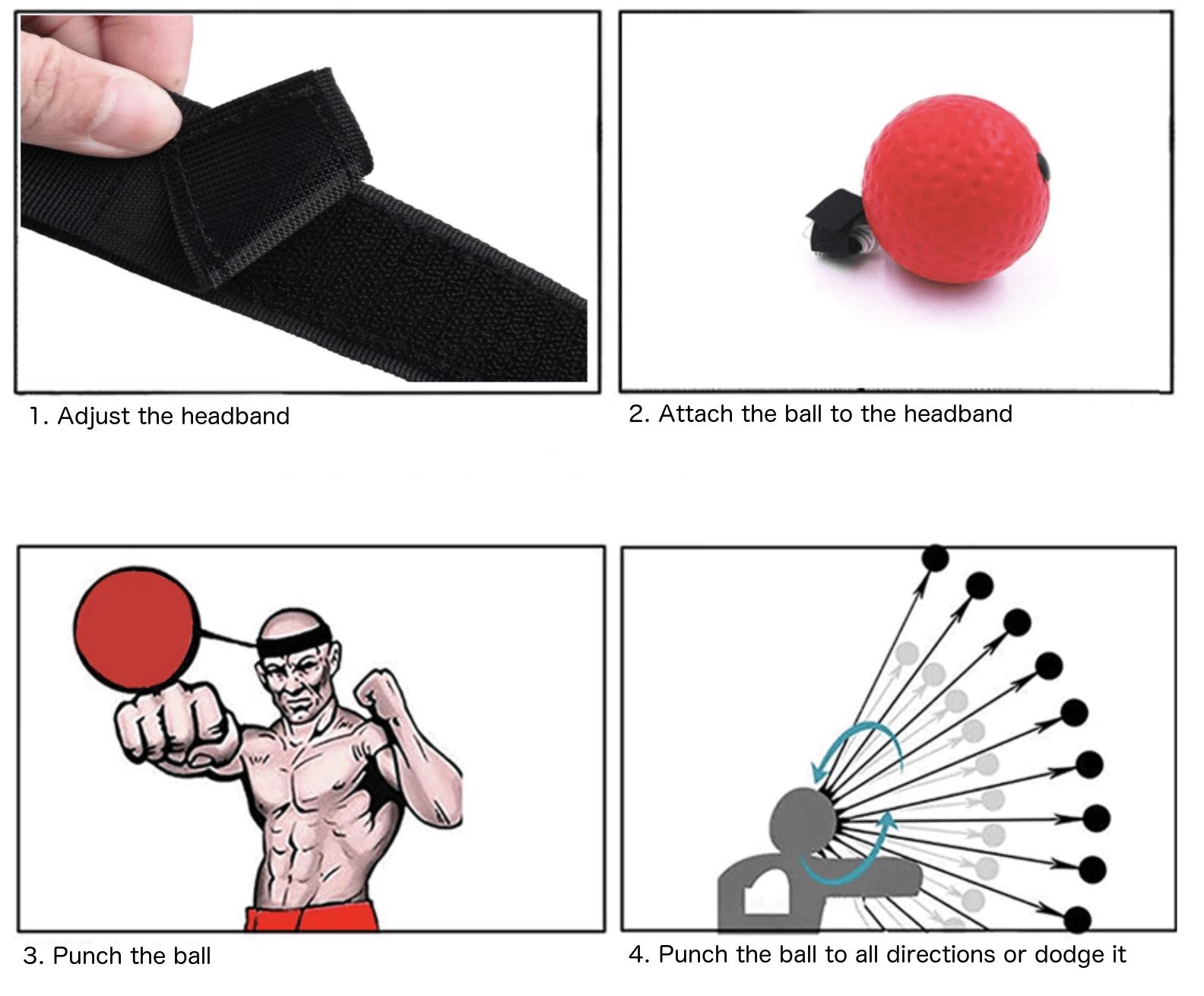 flexball how to use the reflex ball