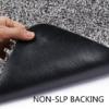 rubber backing magic doormat
