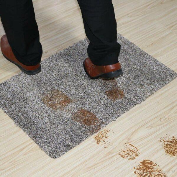 mud footprints magic mat