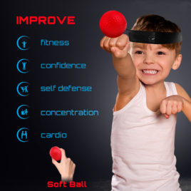 flexball reflex ball for kids hand eye coordination boxing training aid
