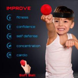 flexball reflex ball for kids hand eye coordination boxing training aid
