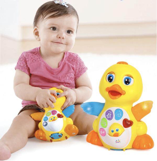 happy dancing music duck
