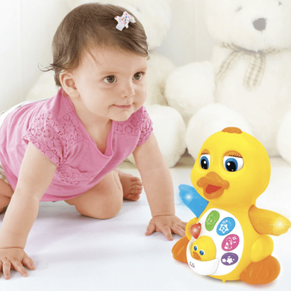 flappy music duck educational toys