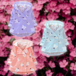 Stylish Spring Flower Coat