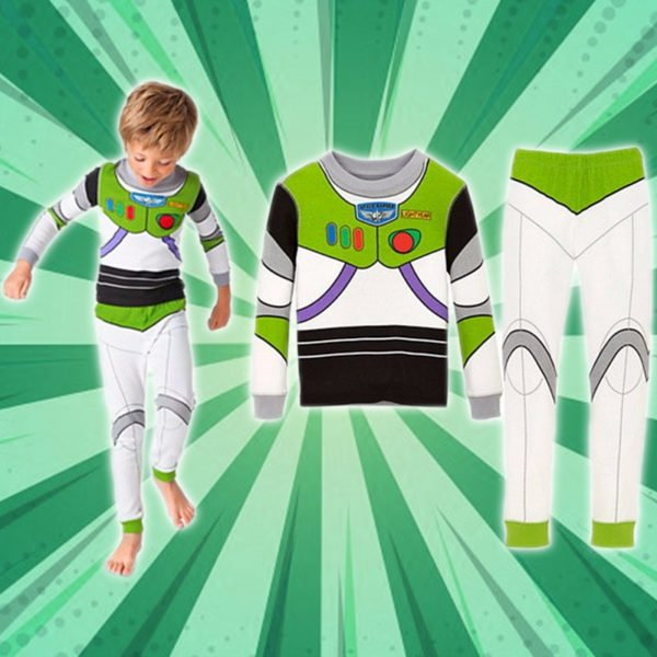 Cozy Cartoon Character Suit / Pajamas - Buzz Lightyear