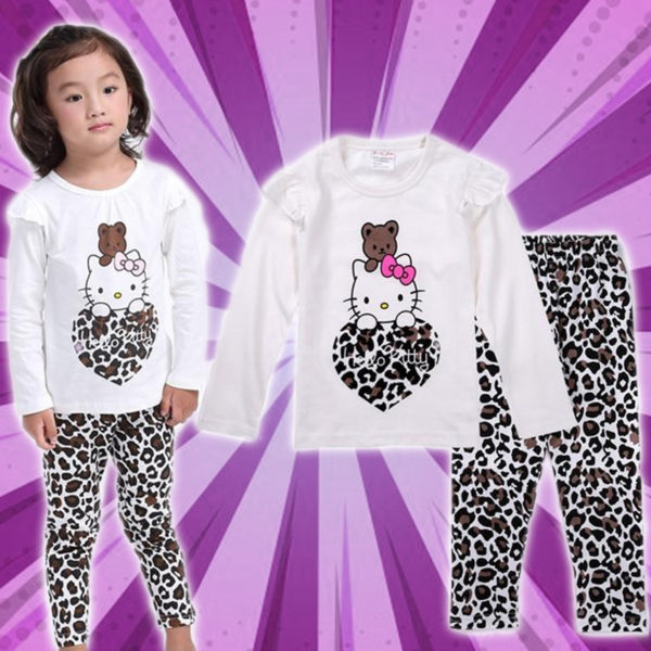 Cozy Cartoon Character Suit / Pajamas - Hello Kitty