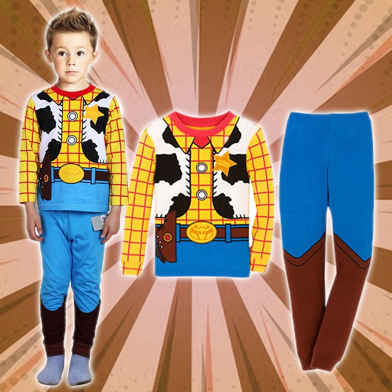 Cozy Cartoon Character Suit / Pajamas - Woody