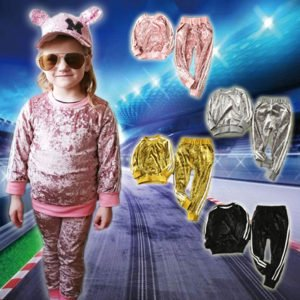 Velvet Sports Tracksuit for Girls
