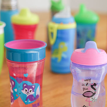 How to help your baby switch to a sippy cup