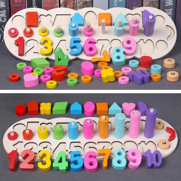 Montessori Learning Board