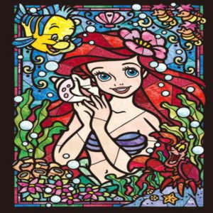 Arielle mermaid diamond painting kit