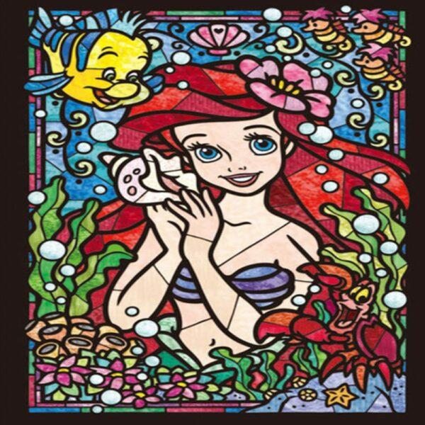 Arielle mermaid diamond painting kit
