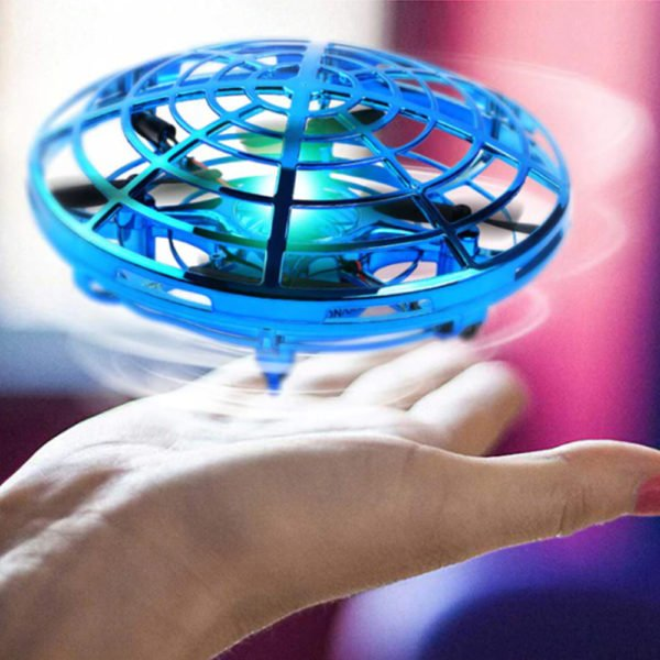 mini ufo drone toy infrared sensor technology induction flying toy for kids