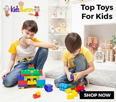 kidsbaron toys for kids and babies banner