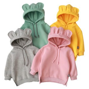 happy ears hoodie for boys and girls