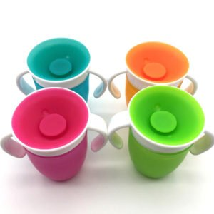 leak proof miracle sippy cup no spills child safe