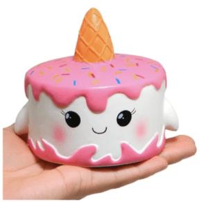 Pink Cone Cake