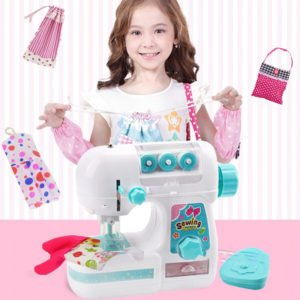 mini sewing machine for kids girls design clothing for dolls wallets accessories applications