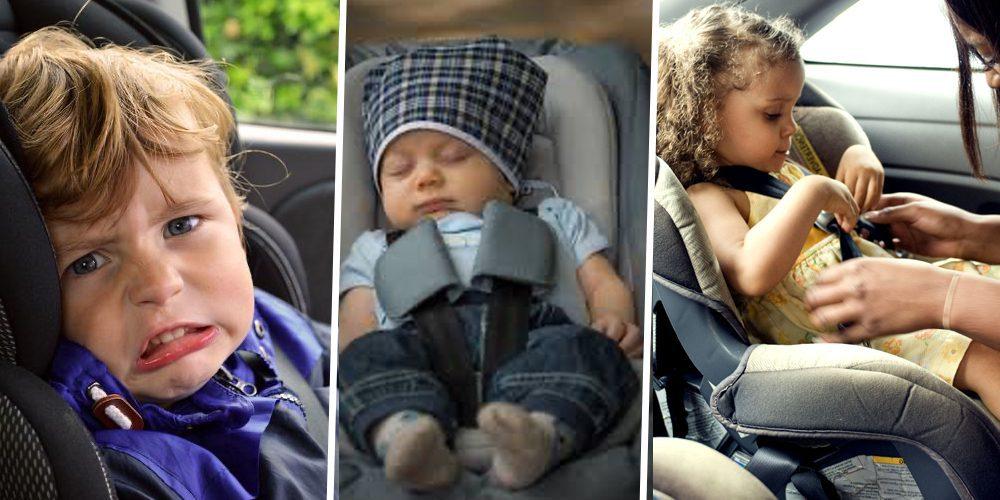 sièges de voiture sûrs pour les enfants