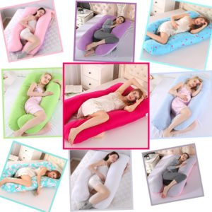 pregnancy maternity nursing breastfeeding pillow cotton side sleeping